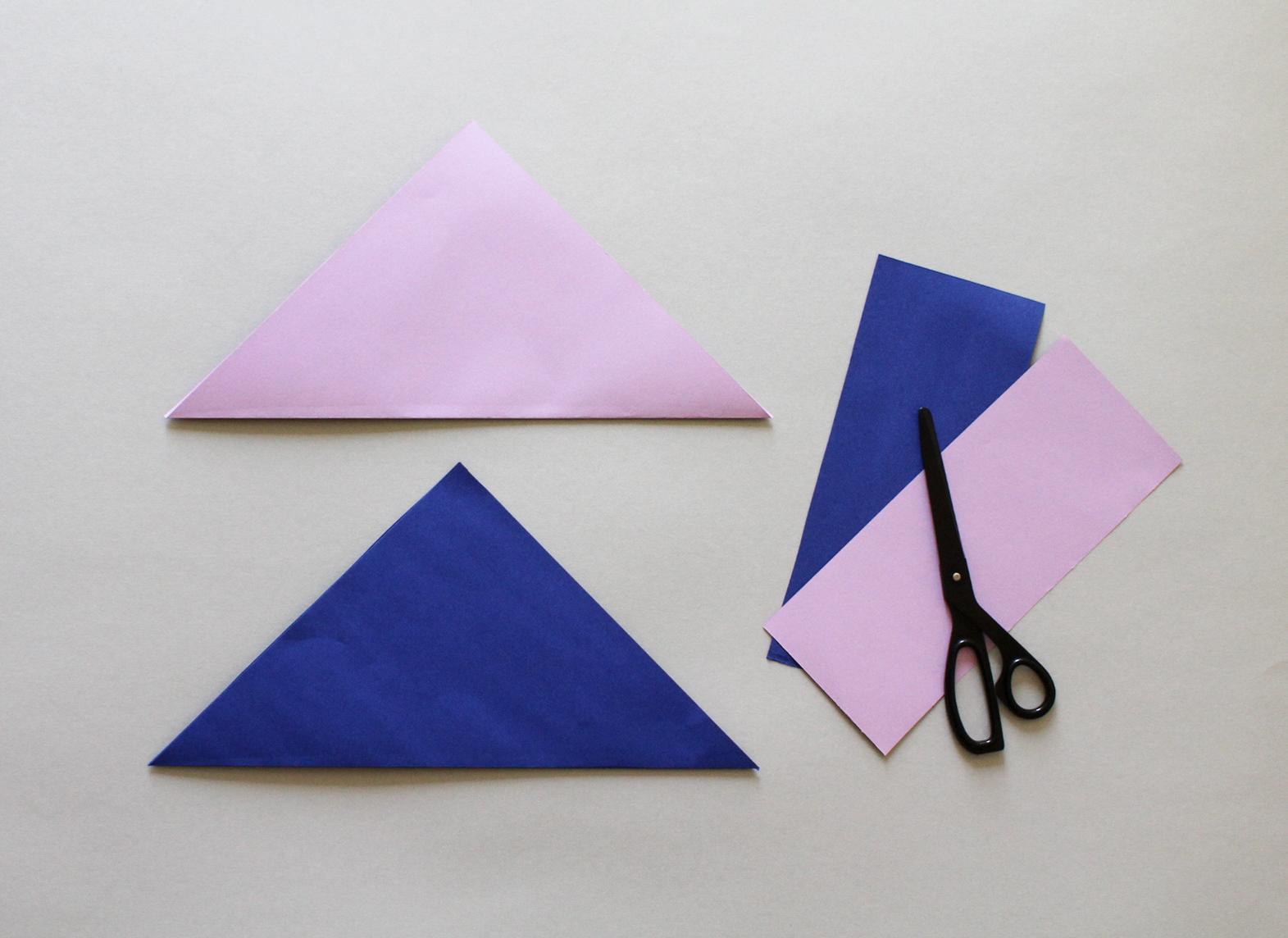 Fang-Spiel aus Papier basteln